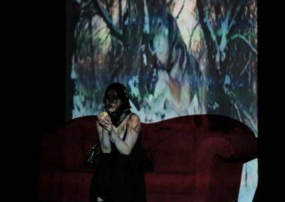 """Ausschnitt aus der Performance """"Und jetzt schaukle"""" (ZEITMAUL-Theater Bochum)"""