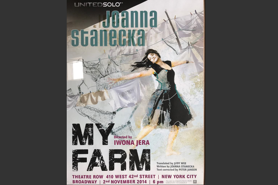 Poster zur Aufführung von My Farm (ZEITMAUL-Theater Bochum)