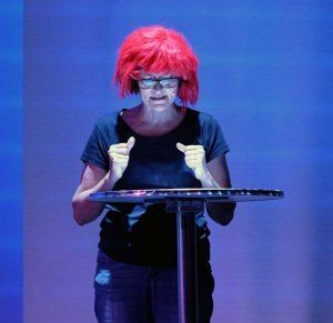 """Ausschnitt aus der Scifi-Actionlesung """"Planetenwanderer"""" im ZEITMAUL-Theater Bochum"""