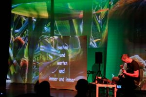 Ausschnitte aus WireWagna mit Witek Danielczok (ZEITMAUL-Theater Bochum)