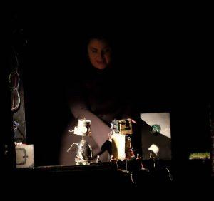 """Szenenfoto """"STROM - Eine Robotergeschichte"""" (ZEITMAUL-Theater Bochum)"""