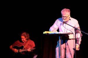 Ausschnitt aus dem Auftritt von Matthias Schamp mit WireWagna (ZEITMAUL-Theater Bochum)