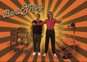 Plakat zum Auftritt von Bert & Roy (ZEITMAUL-Theater Bochum)