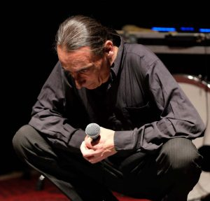 Ausschnitt aus dem Auftritt von Giampiero Piria mit WireWagna (ZEITMAUL-Theater Bochum)