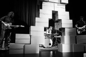 Fotos vom Auftritt WireWagna mit Maria Wolf, Dirk Pleyer, Mario Lange (ZEITMAUL-Theater Bochum)