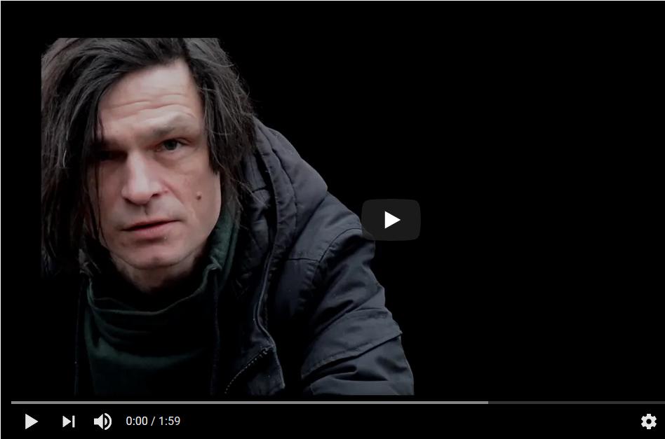 """Ankündigung Video von einem Auftritt von Oliver Möller im Rahmen der Reihe """"BESUCHE"""" (ZEITMAUL-Theater Bochum)"""